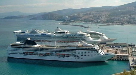 Kuşadası turiste doymuyor, 620 bin turist daha bekliyor!