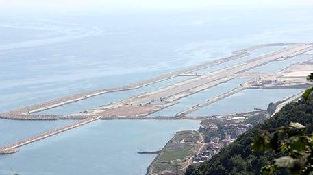 Ordu-Giresun Havalimanı inşaatındaki çalışmalarda…