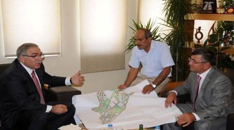 Mehmet Ergün Turan, kentsel dönüşümü yerinde inceledi