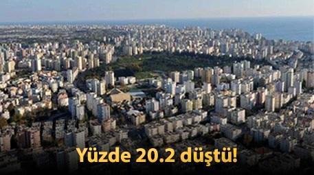 Türkiye'de temmuz ayında satılan konut sayısı...