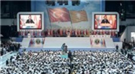 AK Parti'de tarihi kongre! 1. Olağanüstü Büyük Kongre'de...