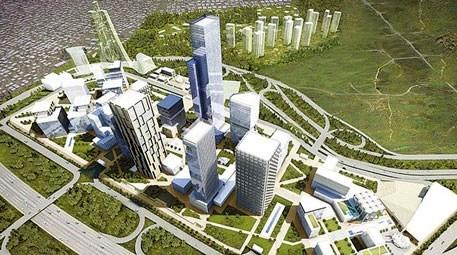 İstanbul Finans Merkezi inşaatında…