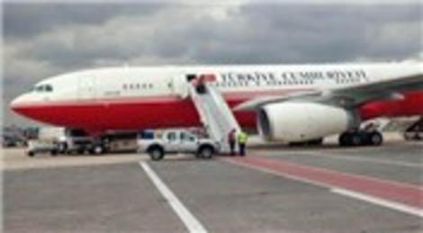 İşte Recep Tayyip Erdoğan'ın kırmızı beyaz uçağı…