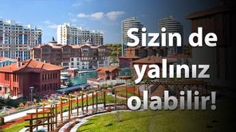 İstanbul Boğazı'nda değil, Halkalı'nın ortasında...