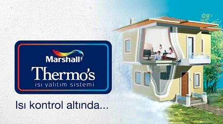 Marshall Thermos Isı Yalıtım Sistemi ile sağlıklı binalar!