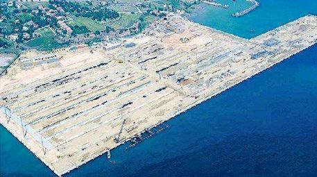 Asyaport'a ilk gemi 2015'te yanaşacak!