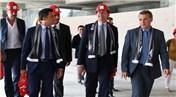 Vittorio Colao, inşaatı devam eden Vodafone Arena'yı ziyaret etti