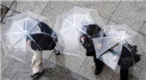 İstanbul'da beklenen oldu! Yağmur…