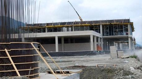 Ordu-Giresun Havalimanı inşaatının yüzde 40'ı…