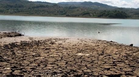 Bu barajda su seviyesi hızla düşüyor!