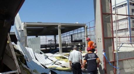 Malatya'da tekstil fabrikasının inşaatı çöktü! Nedeni…