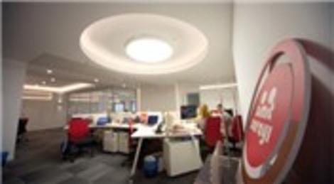 Simit Sarayı'nın merkez ofisi Lamp 83'le aydınlanıyor