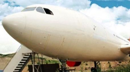 'Uçak Kütüphane'de iç dizayn tamam!