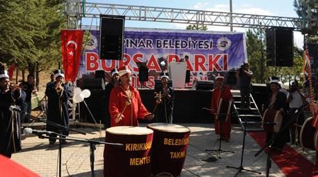 Kırşehir'deki Bursa Parkı törenle hizmete girdi