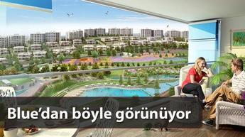 Ankara'nın en mavi projesinde sadece 1+1 ve 2+1'ler var