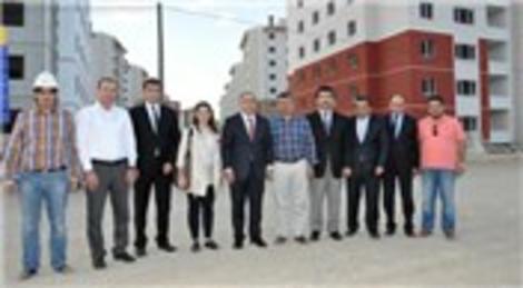TOKİ Başkanı'ndan Seha Yapı şantiyesine ziyaret…