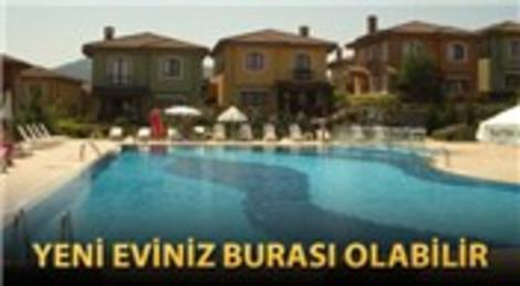 O projede icradan satılık villa!
