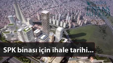 SPK'nın İstanbul Finans Merkezi'ndeki binası TOKİ'den…
