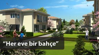 Orta gelirlilere bahçeli ev sahibi olma imkanı