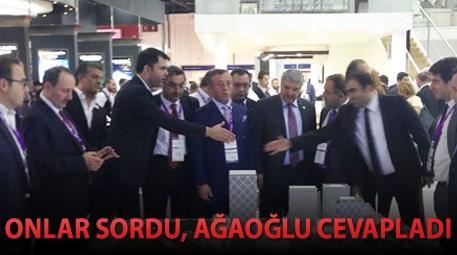 Ağaoğlu, Dubai'de İstanbul Finans Merkezi'ni anlattı