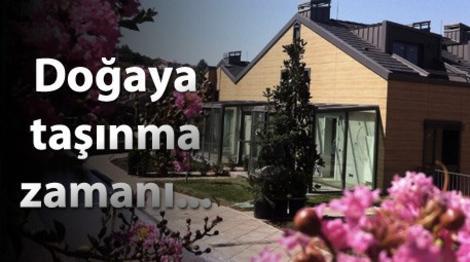 Zekeriyaköy'deki ikiz villalarda yaşam başladı