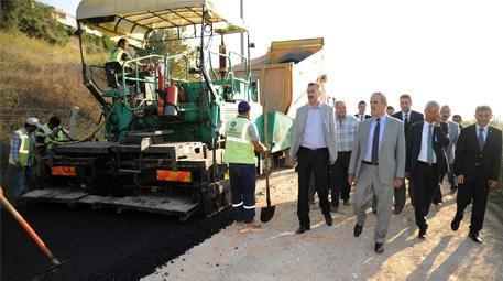 Karacabey'de asfalt seferberliği başladı