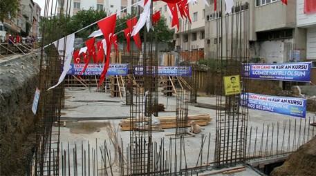 Esenyurt'ta Fatih Camii ve Kur'an Kursu temeli atıldı