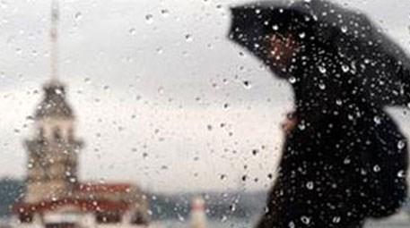 İstanbul'da şiddetli yağış ve fırtına