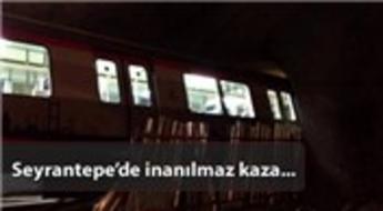 İstanbul'da korkunç metro kazası!