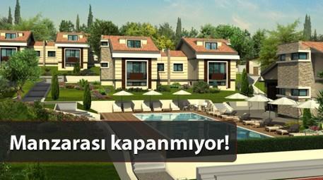 Yüzde 1 KDV'li villalarda son fırsatlar!