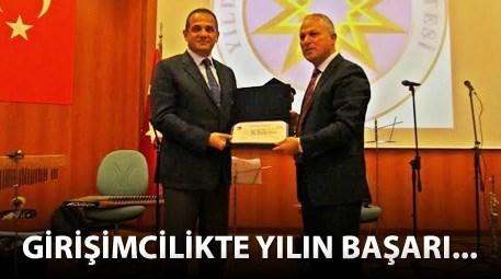 YTÜ'den Ali Dumankaya'ya büyük ödül!