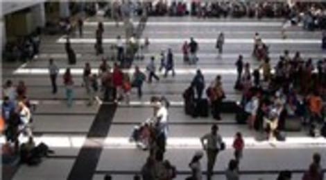Antalya'ya gelen turist sayısı 10 milyonu geçti!