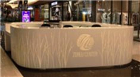 Zorlu AVM'deki DuPont Corian zarafeti göz kamaştırıyor