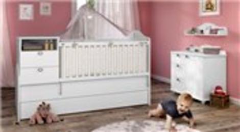E0 sertifikalı bebek odası koleksiyonu KIDS&TEENS'ten!