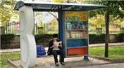 Otobüs beklerken kitap okumaya ne dersiniz? Burada mümkün!