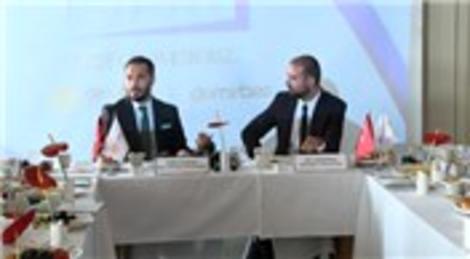 Erguvan İnşaat ve Demirbaş Yapı Avlu Kurtköy basın toplantısı