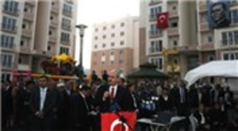 Burdur'daki TOKİ konutları törenle açıldı!