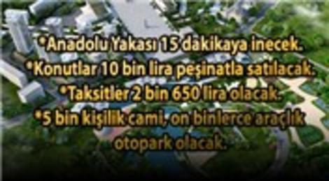 Başakşehir Yeni Merkez! İstanbul'un en özel projesi!