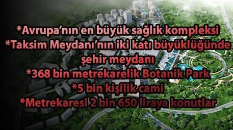 Başakşehir Yeni Merkez'deki konutlar satışa çıkıyor!
