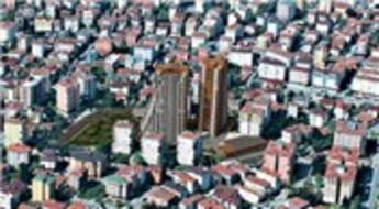 Statü Park, Pendik Marina'nın yanı başında yükseliyor
