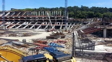 Vodafone Arena'nın inşaatında 30 bin ton demir kullanılacak