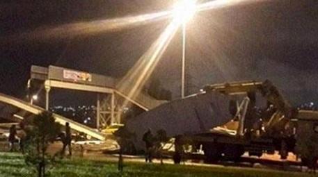 İstanbul'da bir üst geçit kazası daha! İşte detaylar...