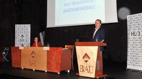 Lokman Çağırıcı, 'Belediyecilikte Bağcılar Modeli'ni anlattı