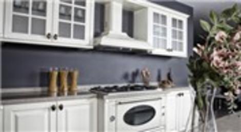 Kelebek Mobilya'nın Pierina'sı mutfakların havasını değiştiriyor