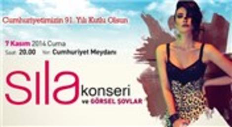 Sıla 7 Kasım'da Ataşehir'de  konser veriyor