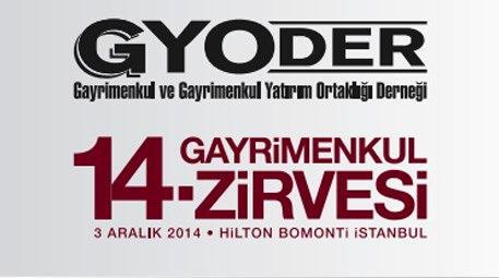 GYODER'in 14. Gayrimenkul Zirvesi 3 Aralık'ta...