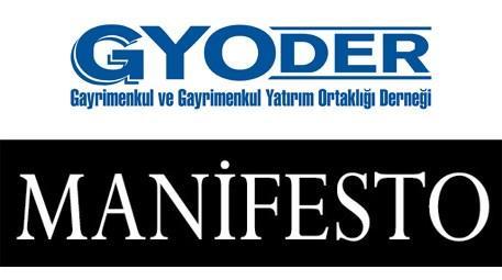GYODER'e sektör yürüyüşünde Manifesto eşlik edecek