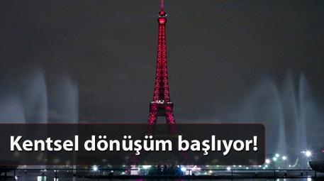 Paris yeniden inşa ediliyor! Nasıl mı?