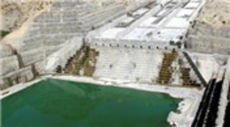 Ilısu Barajı ve HES'in yüzde 80'i tamamlandı