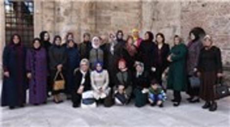 Büyükşehir belediye başkanların eşleri Bursa'ya hayran kaldı